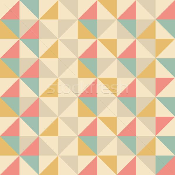 abstract geometric background Stock photo © balasoiu