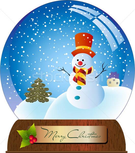 Christmas ball Stock photo © balasoiu