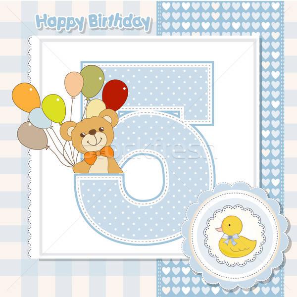 the fifth anniversary of the birthday Stock photo © balasoiu