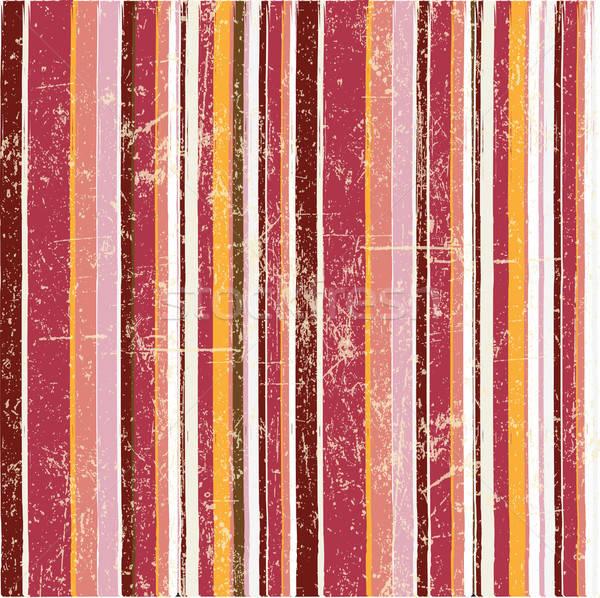 vintage seamless strips background Stock photo © balasoiu