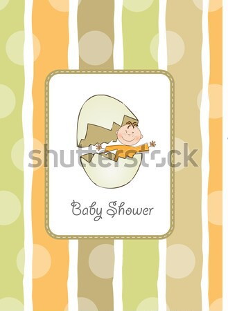 new baby boy arrived Stock photo © balasoiu