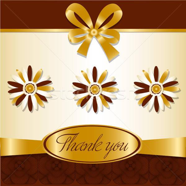 thank you card Stock photo © balasoiu