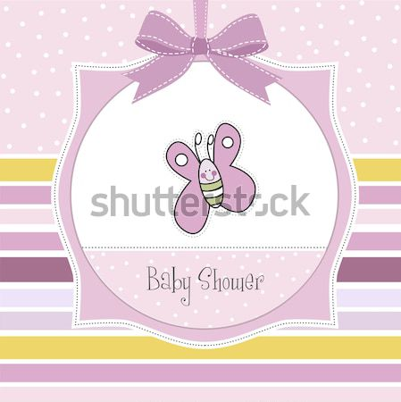Puéril bébé douche carte jouet Photo stock © balasoiu