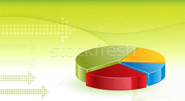 金融 背景 緑 企業 将来 ストックフォト © balasoiu
