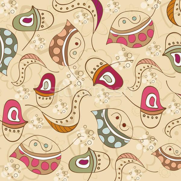 Blad illustratie vector formaat textuur Stockfoto © balasoiu
