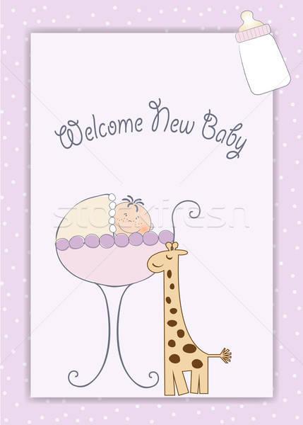 new baby arrived Stock photo © balasoiu
