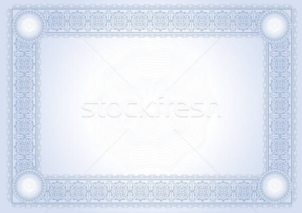 Diploma bizonyítvány üzlet keret pénzügy hátterek Stock fotó © balasoiu