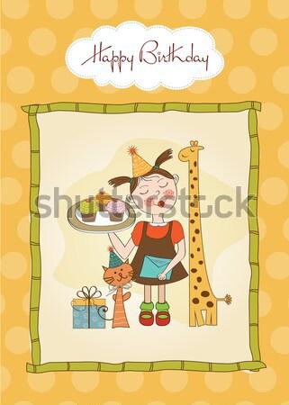 happy zoo Stock photo © balasoiu