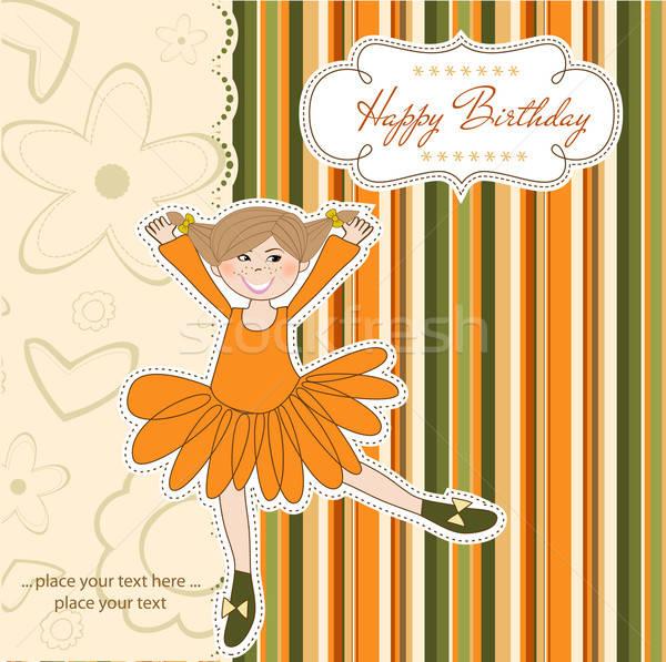 Birthday Greeting Card Stock photo © balasoiu