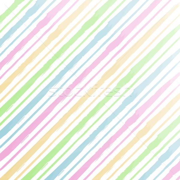 Vízfesték csíkok vektor eps10 papír textúra Stock fotó © balasoiu