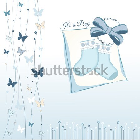 Bridal Shower greeting card Stock photo © balasoiu
