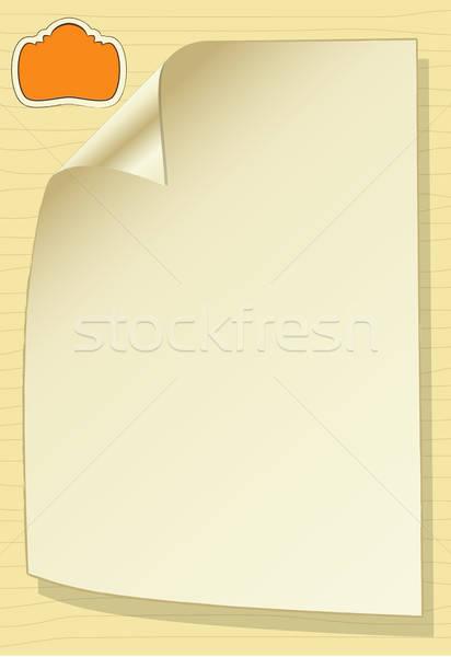 Stockfoto: Sjabloon · ontwerp · wenskaart · voorjaar · bruiloft · partij