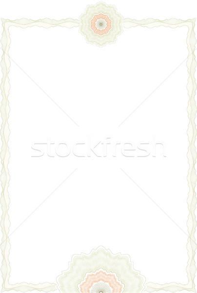 証書 証明書 ビジネス 紙 フレーム 金融 ストックフォト © balasoiu