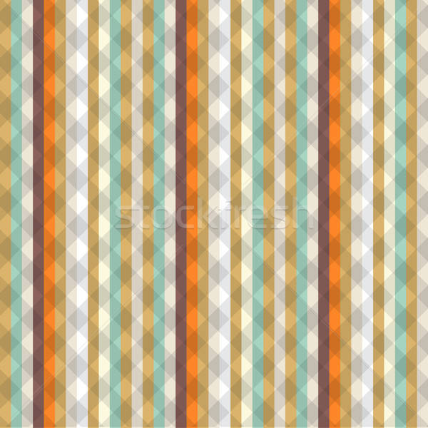 Striped seamless vintage pattern with vertical strips Stock photo © balasoiu