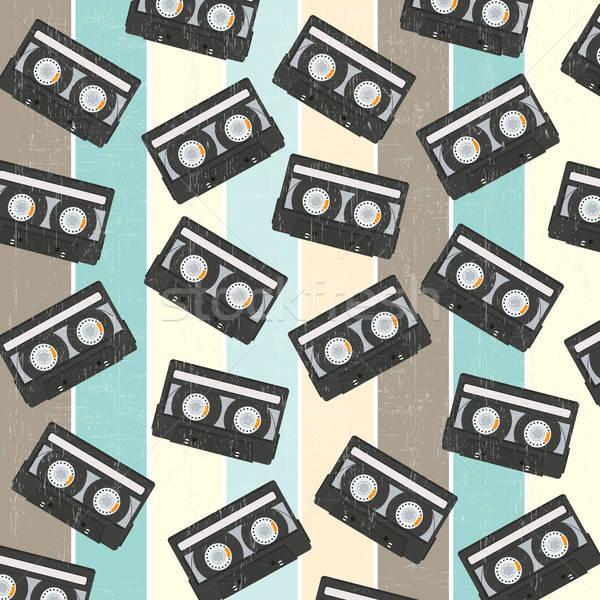 Vintage musique film technologie Photo stock © balasoiu