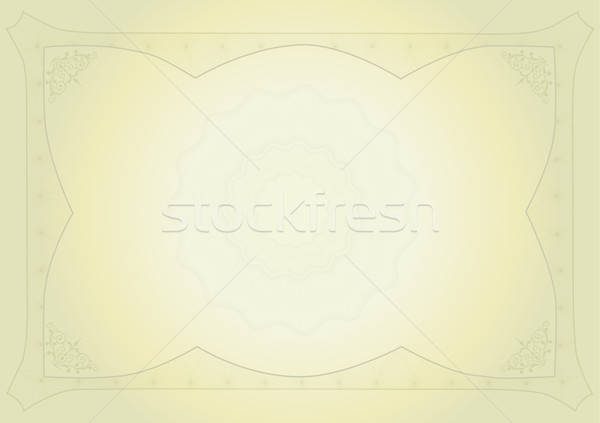 Diploma certificaat business frame financieren achtergronden Stockfoto © balasoiu