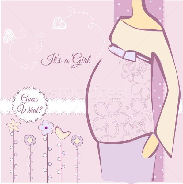 Baby Shower Stock photo © balasoiu