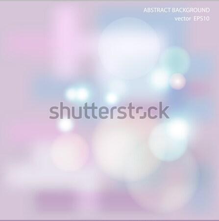 Puha színes absztrakt eps10 fény szépség Stock fotó © balasoiu