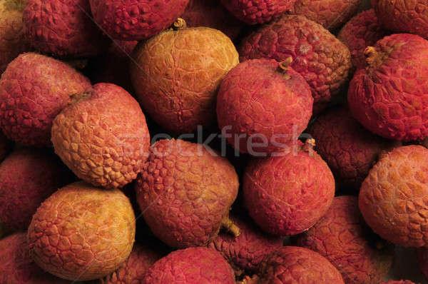 Zdjęcia stock: Chińczyk · owoców · orzechy · czerwony · pomarańczowy