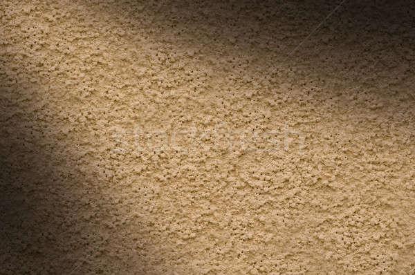 Stuc mur texture beige Photo stock © Balefire9