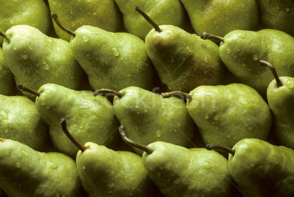 Bartlet pears lined up Stock photo © Balefire9