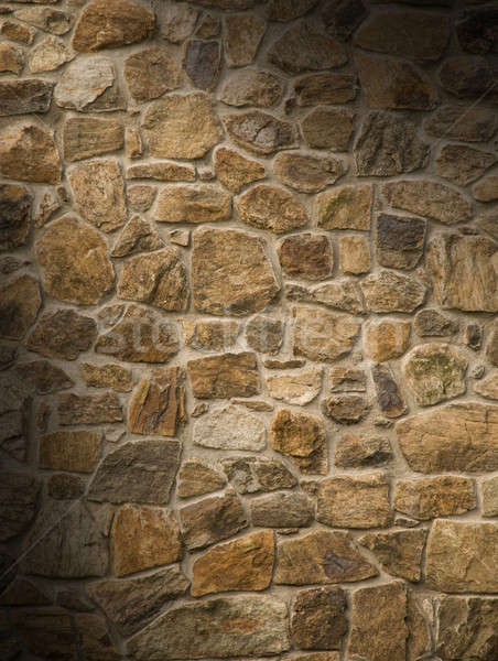 メーソンリー 岩 壁 ブラウン ストックフォト © Balefire9