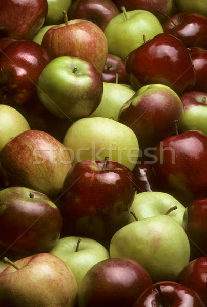 Pile of mixed varieties of apples Stock photo © Balefire9