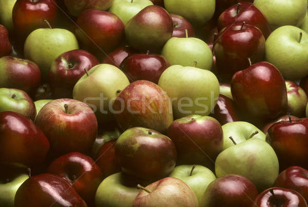 Mixed varieties of apples Stock photo © Balefire9