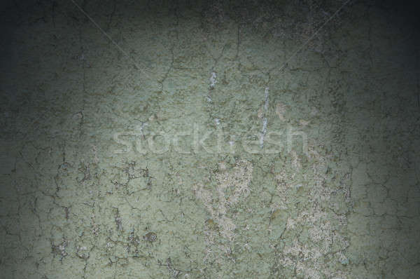 Grayish Green Weathered and Distressed Texture Lit Dramatically Stock photo © Balefire9