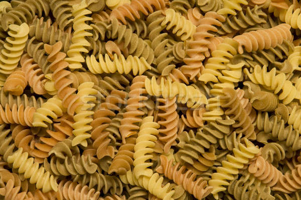 Multi-colored Fusilli Stock photo © Balefire9