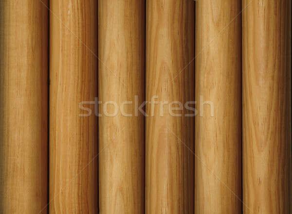 Fából készült fa háttér Stock fotó © Balefire9