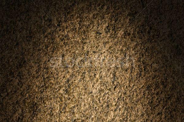 Granite rock stone texture lit dramatically Stock photo © Balefire9