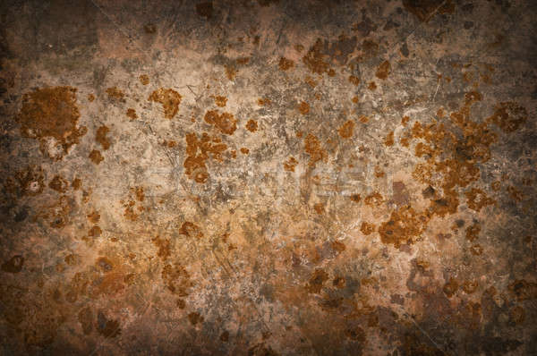 Metal background with rusty corrosion Stock photo © Balefire9