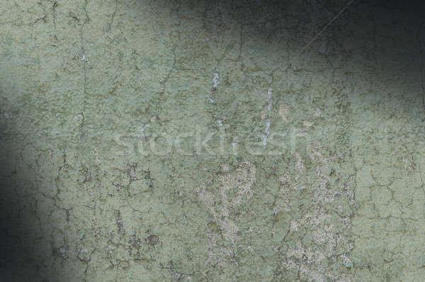 Zielone wyblakły tekstury ściany Zdjęcia stock © Balefire9