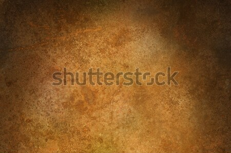 Grungy distressed iron surface lit from above Stock photo © Balefire9