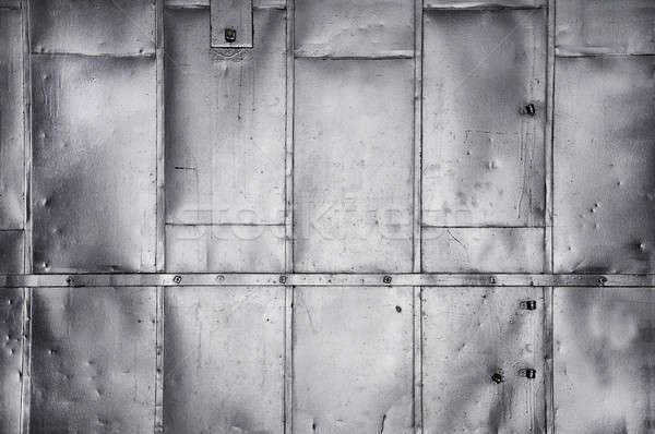Metallic industrial background texture Stock photo © Balefire9
