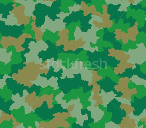 Zöld álca végtelen minta végtelenített Stock fotó © Balefire9