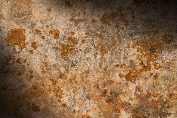 Metal Rusty corrosión metálico fondo Foto stock © Balefire9