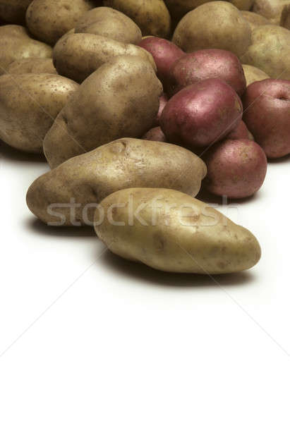 Pile of potatoes close up Stock photo © Balefire9