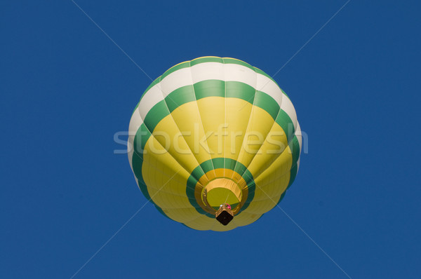 Hot-air balloon airborne, shot from beneath Stock photo © Balefire9
