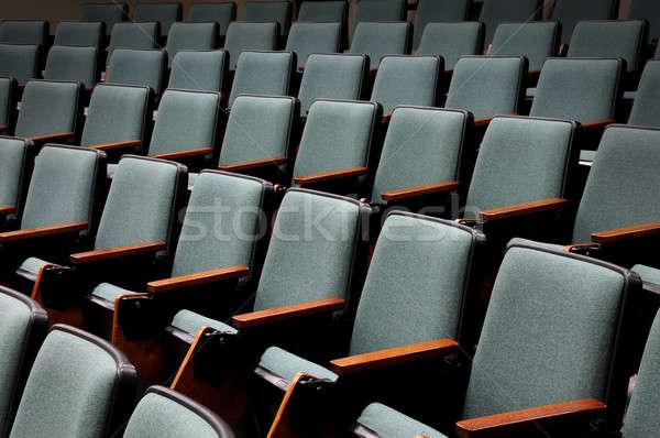 üres auditórium sorok szabad előadás előcsarnok Stock fotó © Balefire9