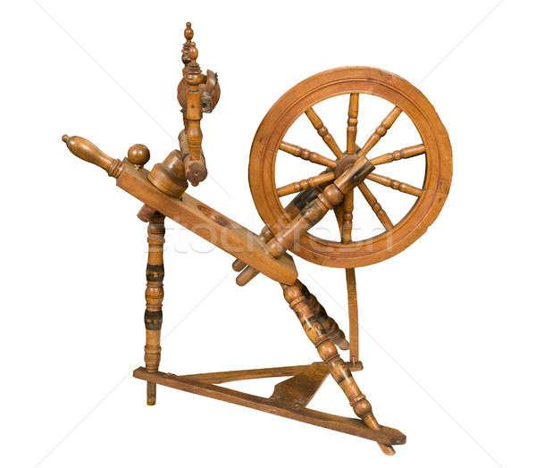 Antiken Rad weiß Tool Stock foto © Balefire9