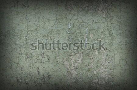緑 風化した 壁 暗い 周りに ストックフォト © Balefire9