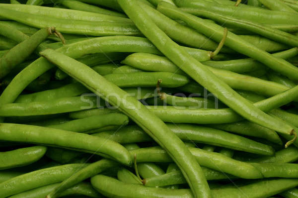 Close-up of uncut string beans Stock photo © Balefire9