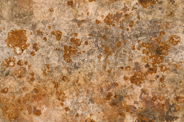 Metal background with rusty corrosion seamlessly tileable Stock photo © Balefire9