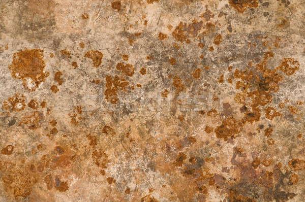 Fém rozsdás korrózió textúra háttér Stock fotó © Balefire9