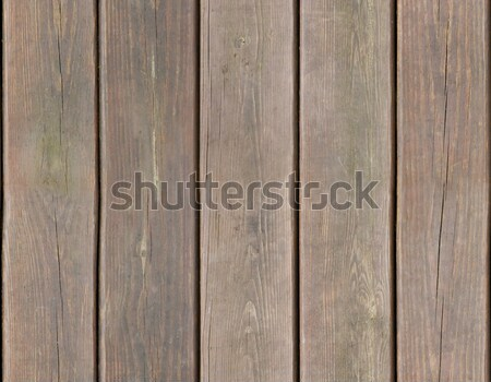 Weathered wooden plank background seamlessly tileable Stock photo © Balefire9