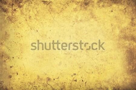 Grungy yellow background texture Stock photo © Balefire9