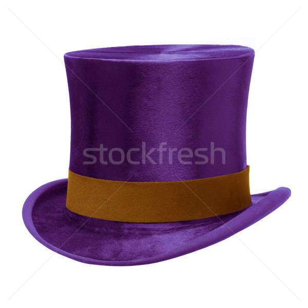 Purple Top Hat Stock photo © Balefire9