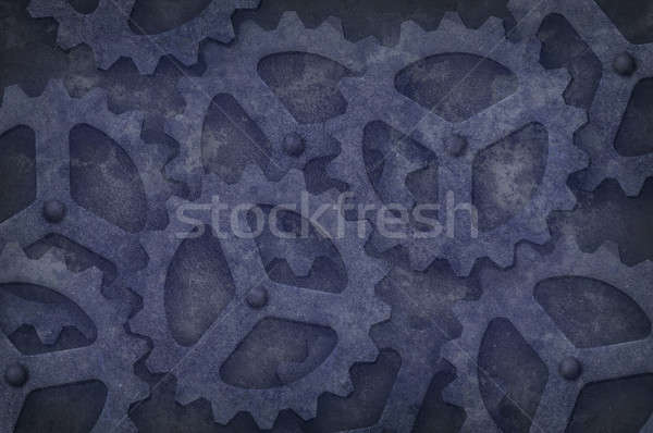 Grungy Gear Background Stock photo © Balefire9